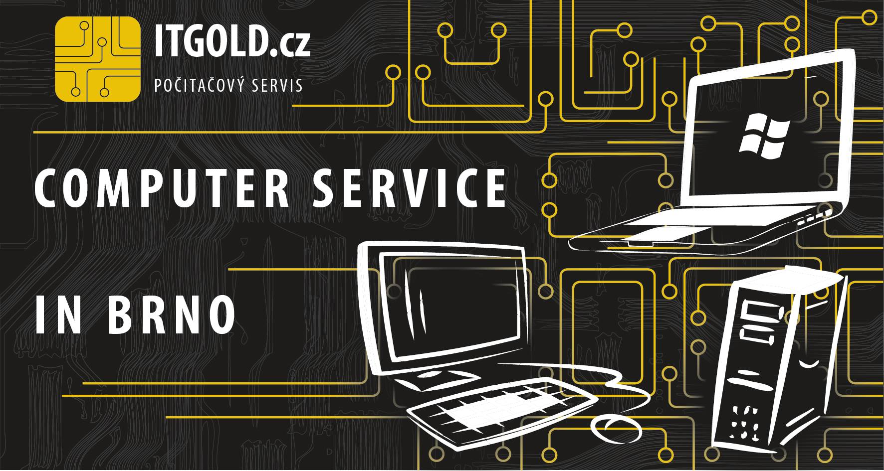 Компьютерный сервис в БРНО