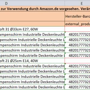 Amazon listing Add Products, АМАЗОН добавление продуктов одним файлом